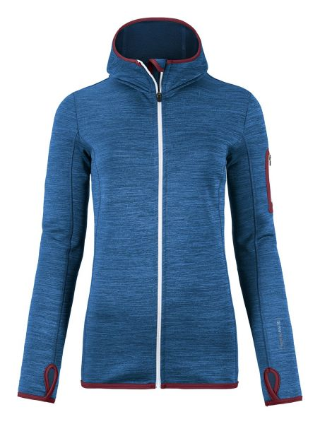 Fleece Melange Hoody Woman
